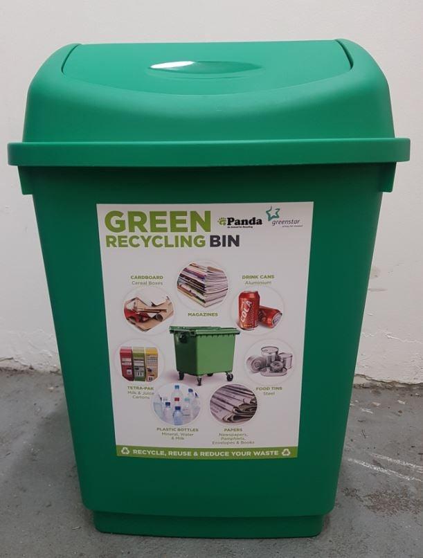 Green pin 1